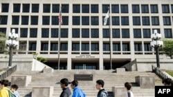Здание Министерства труда Соединенных Штатов в Вашингтоне