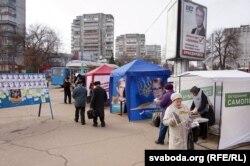 Передвиборча агітація в Чернігові