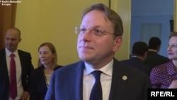 Єврокомісар з питань сусідства та розширення Олівер Варгеї