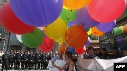 Парад ЛГБТ-активістів у Києві (ілюстративне фото)