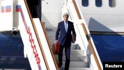 Джон Керрі прибув у Москву, 23 березня 2016 року