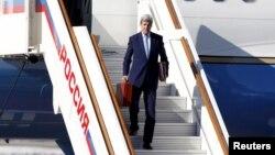 جان کری روز چهارشنبه وارد مسکو شد