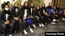 عکس اعضای تیم فوتبال ایران پیش از سفر به تاشکند