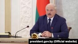 Александр Лукашенко, раҳбари худкомаи Беларус