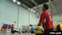 Русия паралимпия такымы спортчылары күнегүләр үткәрә