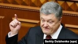 Украина -- Президент Порошенко Петро, Киев, Лаккхара Рада, 07Гезг2017.