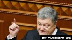 Президент України Петро Порошенко в парламенті, ілюстративне фото