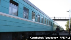 Пассажирский поезд. Архивное фото.