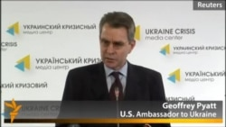 U.S. Ambassador Says Crimea Should Stay In Ukraine