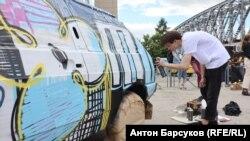 Фестиваль аэрографии в Новосибирске