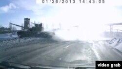 Оьрсийчоь - Лахарчу Тагилехь машенийн некъ хадош ю танк