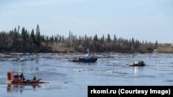 Нефтеразлив в Коми (архивное фото)