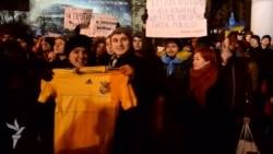 Dvije hiljade ljudi na protestu u Donetsku