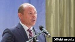 Valeriu Streleț la Comrat