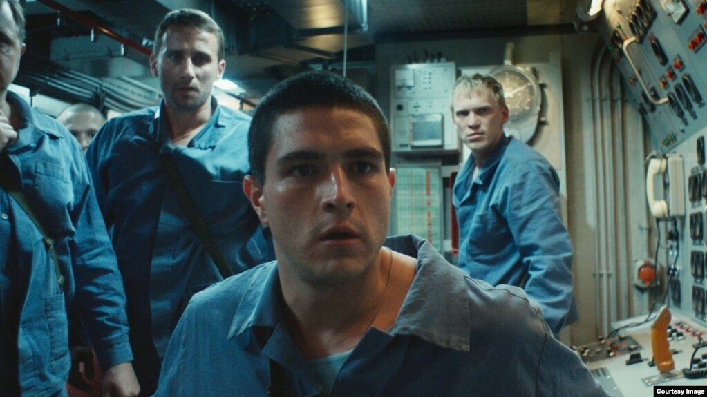 Кадр из фильма «Курск» Томаса Винтерберга