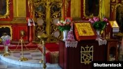 Інтер'єр Андріївської церкви в Києві