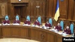 Судді Конституційного суду, архівне фото