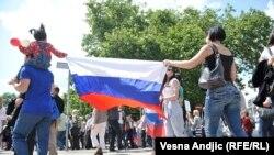 Obeležavanje Dana pobede, Beograd, 9. maj 2016, foto: Vesna Anđić