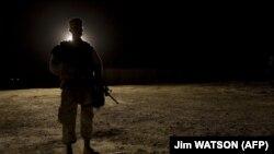 Baza Al Asad e ushtrisë amerikane në Irak.