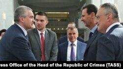 Сергій Аксенов на зустрічі з Башаром Асадом у Сирії