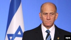 اهود اولمرت از سال ۲۰۰۶ تا ۲۰۰۹ میلادی نخستوزیر اسرائیل بود.