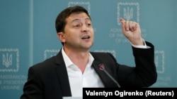 Ուկրաինայի նախագահ Վլադիմիր Զելենսկի, Կիև, 1-ը հոկտեմբերի, 2019թ.