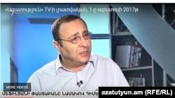 Адвокат Тигран Айрапетян в студии «Азатутюн ТВ», Ереван, 1 августа 2017 г․