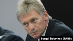 Kremlin spokesman Dmitry Peskov (file photo)