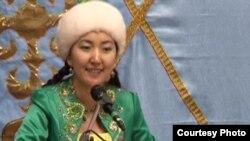 Сара Тоқтамысова, айтыскер ақын. Қарауыл ауылы, Шығыс Қазақстан облысы, 15 қыркүйек 2011 жыл.