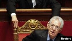 Kryeministri italian, Mario Monti.
