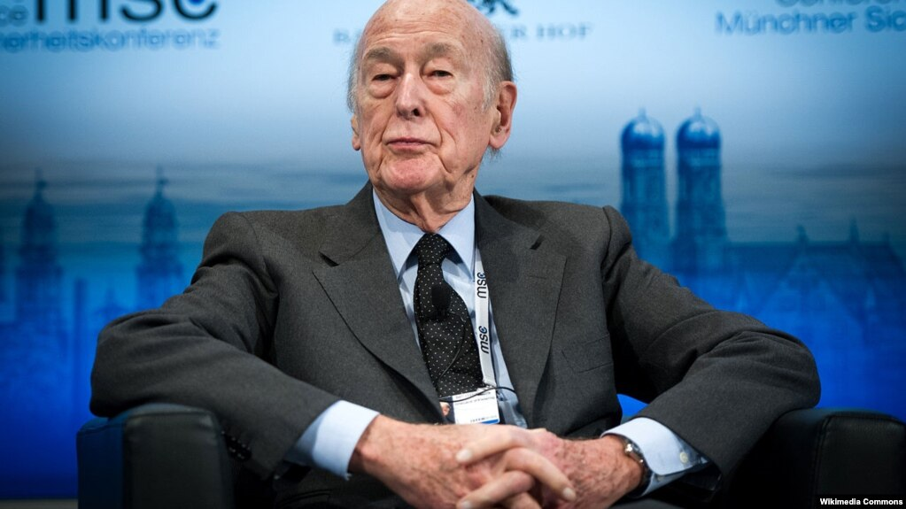 Валери Жискар д'Эстен, бывший президент Франции