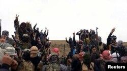 Рамади шаарындагы согуштан бир көрүнүш. 1-январь 2014-жыл