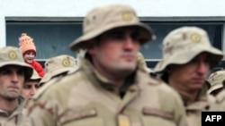 Припадници на специјалната единица на АРМ