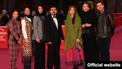 گروه بازیگری فیلم «گس» در جشنواره فیلم رم.