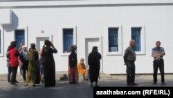 Türkmenistandaky çilim nobatlary.