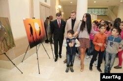 Leyla Əliyeva filmin təqdimatında