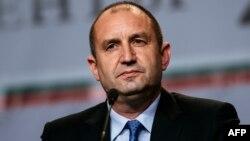 Румен Радев, Болгария президенті.