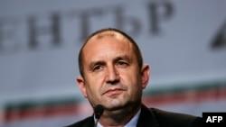 Кандидат в президенты Болгарии Румен Радев.