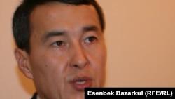 Алихан Смаилов в бытность руководителем агентства по статистике Казахстана.
