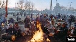 Вильнюс, январь 1991 года