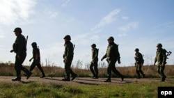 Боевики группировки «ДНР» покидают свои позиции возле Петровского. 7 октября 2016 года