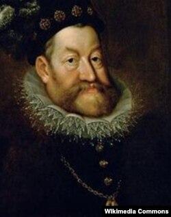 Ыйык Рим империясынын императору Рудольф II. 1590. Ханс фон Аахен тарткан. Венадагы Көркөм өнөр музейи
