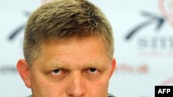 Лидер Социал-демократической партии Словакии Роберт Фицо