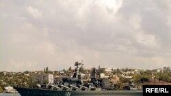 Ракетний крейсер «Москва». Архівне фото