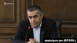 Глава парламентской фракции АРФ «Дашнакцутюн» Армен Рустамян (архив)
