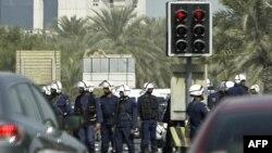 نیروهای امنیتی بحرین در نزدیکی میدان مروارید استقرار یافتهاند