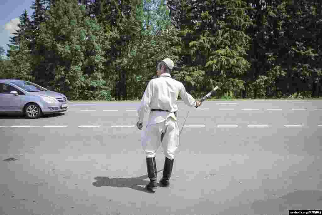 На трасе на «лінію Сталіна»