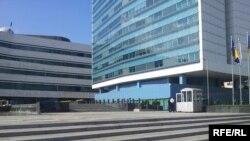Zgrada Parlamenta BiH ispred koje su održavani protesti zbog neusvajanja zakona o JMBG