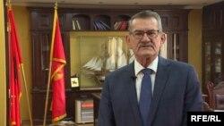 Kryetari i Komunës së Ulqinit, Loro Nrekiq.