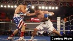 Ilustrim nga një duel boksi